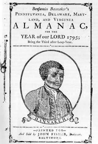 Banneker almanac title page